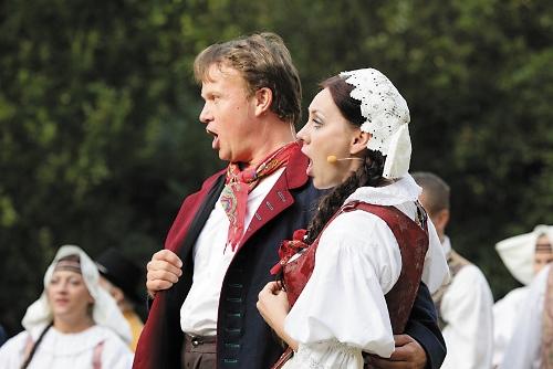 zpívající dvojice